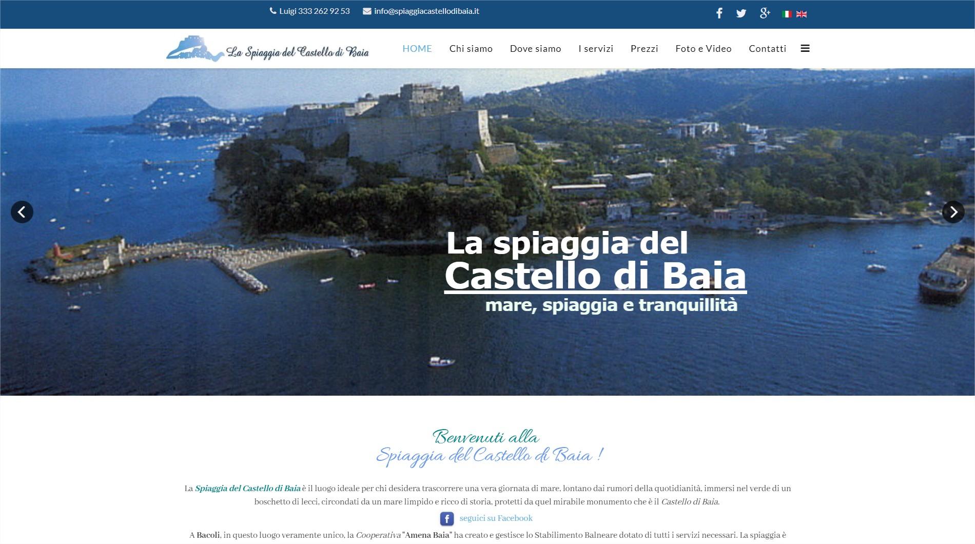Click per accedere al sito SPIAGGIA DEL CASTELLO DI BAIA